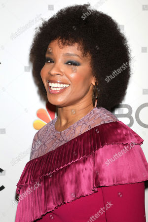 Amber Ruffin attends the NBC midseason 2020 press day party hosted by NBC and The Cinema Society at the Rainbow Room Gallery Bar, in New York