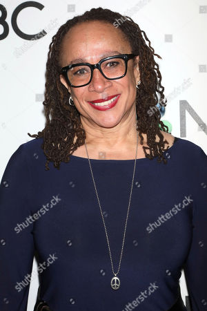 Stock Image of S. Epatha Merkerson attends the NBC midseason 2020 press day party hosted by NBC and The Cinema Society at the Rainbow Room Gallery Bar, in New York