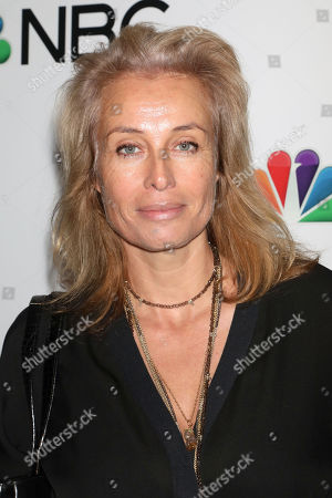 Frederique van der Wal attends the NBC midseason 2020 press day party hosted by NBC and The Cinema Society at the Rainbow Room Gallery Bar, in New York