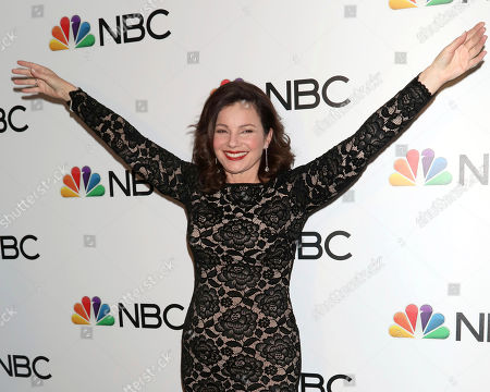 Stock Photo of Fran Drescher attends the NBC midseason 2020 press day party hosted by NBC and The Cinema Society at the Rainbow Room Gallery Bar, in New York