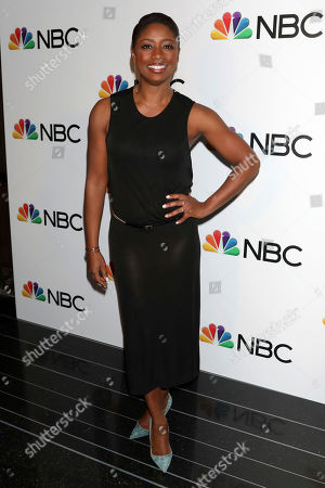 Stock Image of Montego Glover attends the NBC midseason 2020 press day party hosted by NBC and The Cinema Society at the Rainbow Room Gallery Bar, in New York