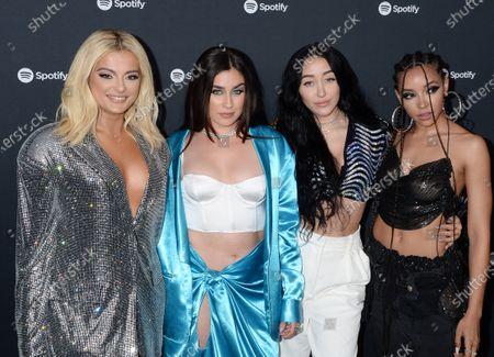 Bebe Rexha, Lauren Jauregui, Noah Cyrus and Tinashe