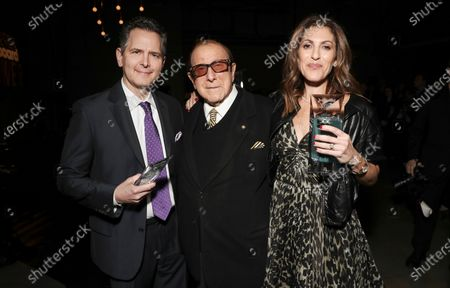 Stock Image of Craig Kallman, Clive Davis and Jody Gerson