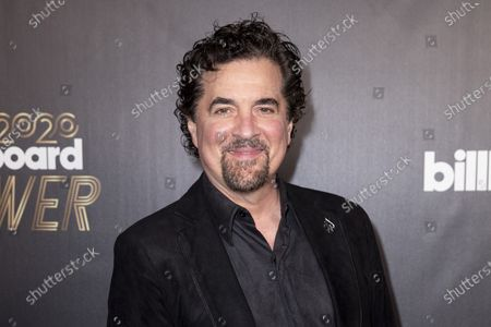 Big Machine Records CEO Scott Borchetta poses on the red carpet prior to the 2020 Billboard Grammy Power 100 event in Hollywood, California, USA, 23 January 2020.