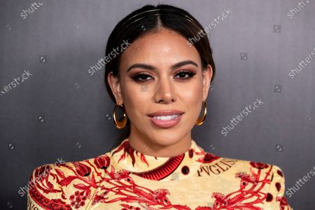 Dinah Jane poses on the red carpet prior to the 2020 Billboard Grammy Power 100 event in Hollywood, California, USA, 23 January 2020.