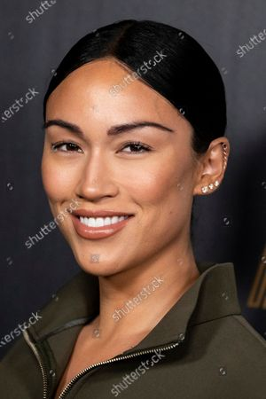 Stephanie Shepherd poses on the red carpet prior to the 2020 Billboard Grammy Power 100 event in Hollywood, California, USA, 23 January 2020.