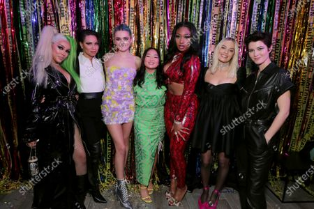 Doja Cat, Jurnee Smollett-Bell, Charlotte Lawrence, Ella Jay Basco, Megan Thee Stallion, Margot Robbie, Mary Elizabeth Winstead