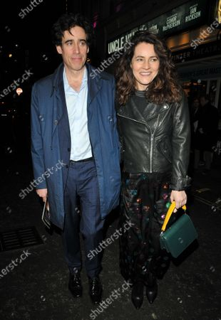 Stock Image of Stephen Mangan and Louise Delamere