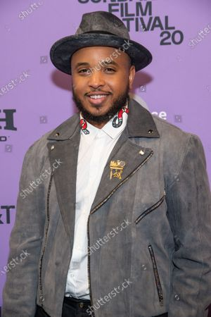 Stock Picture of Justin Simien