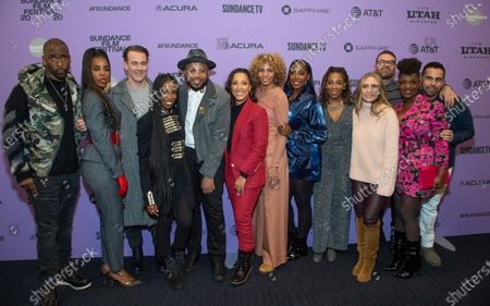 Jay Pharoah, Kelly Rowland, James Van Der Beek, Elle Lorraine, Director Justin Simien, Robin Thede, Michelle Hurd, Ashley Blaine, Daheli Hall, Julia Lebedev, Producer Eddie Vaisman, Yaani King Mondschein, and Angel Lopez