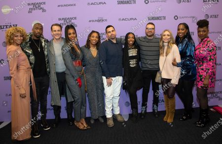 Michelle Hurd, Jay Pharoah, James Van Der Beek, Kelly Rowland, Daheli Hall, Angel Lopez, Elle Lorraine, Producer Eddie Vaisman, Julia Lebedev, Ashley Blaine, and Yaani King Mondschein