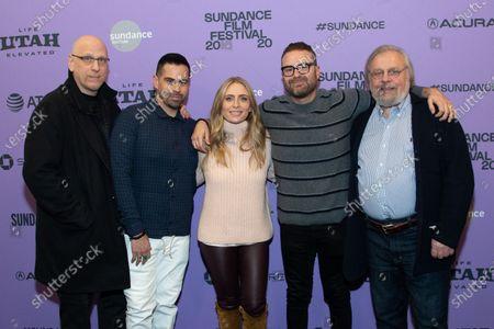 Guest, Angel Lopez, Julia Lebedev and Eddie Vaisman and Guest