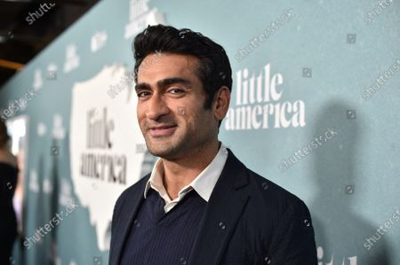 "Stock Picture of Kumail Nanjiani, Writer/ Executive Producer, at the Special Screening of Apple's ""Little America"" at the Pacific Design Center."