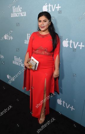 Editorial image of Special Screening of Apple's 'Little America', Arrivals, Pacific Design Center, Los Angeles, CA, USA - 23 Jan 2020