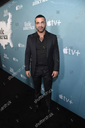 """Haaz Sleiman at the Special Screening of Apple's """"Little America"""" at the Pacific Design Center."""