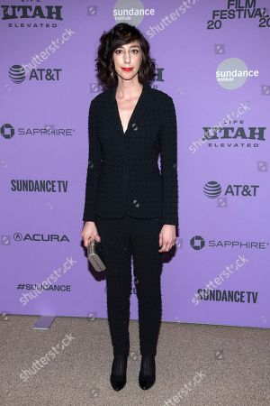 """Stock Image of Lana Wilson attends the premiere of """"Miss Americana"""" at the Eccles Theater during the 2020 Sundance Film Festival, in Park City, Utah"""