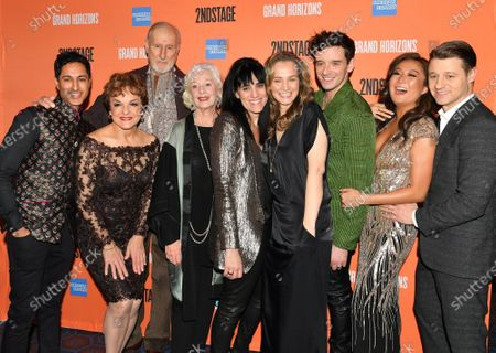 Stock Picture of Maulik Pancholy, James Cromwell, Priscilla Lopez, Jane Alexander, Leigh Silverman, Bess Whol, Michael Urie, Ashely Park, Benjamin McKenzie