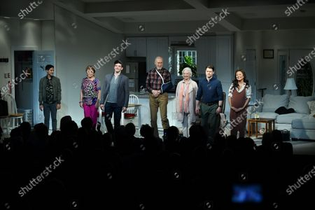 Stock Photo of Maulik Pancholy, Priscilla Lopez, Michael Urie, Jame Cromwell, Jane Alexander, Benjamin McKenzie, Ashley Park
