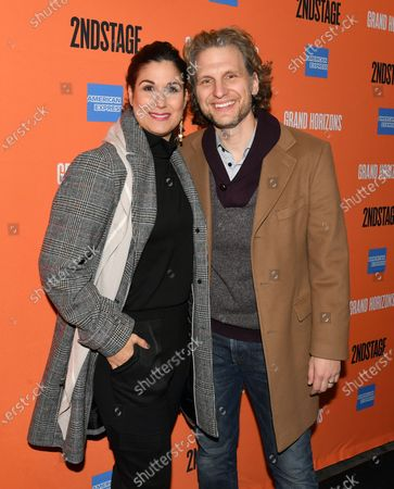 Editorial image of 'Grand Horizons' play opening night, Broadway, New York, USA - 23 Jan 2020