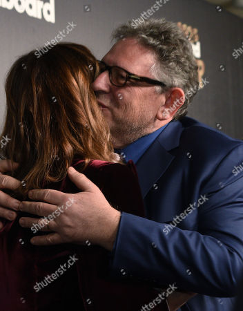 Stock Image of Sir Lucian Grainge and Jody Gerson