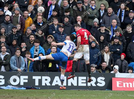 Phil Jones of Manchester United scores the 4th goal