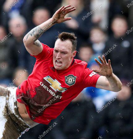 Stock Photo of Phil Jones of Manchester United