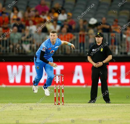 Editorial image of Perth Scorchers v Adelaide Strikers, Cricket, Big Bash League, Optus Stadium, Perth, Australia - 24 Jan 2020
