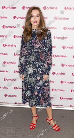 Editorial image of 'Lorraine' TV show, London, UK - 24 Jan 2020