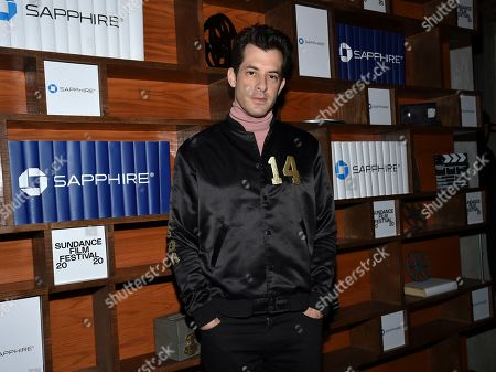 Chase Sapphire Creator and famed producer Mark Ronson poses backstage at Chase Sapphire on Main at Sundance Film Festival 2020 on in Park City, Utah