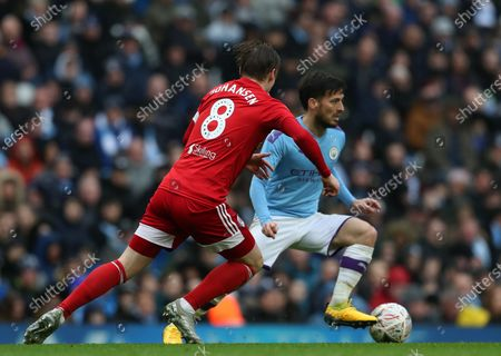 Editorial image of Manchester City v Fulham, Emirates FA Cup Fourth Round, Football, Etihad Stadium, Manchester, UK - 26 Jan 2020