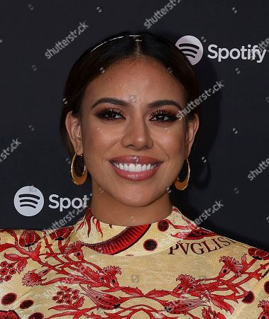 Dinah Jane arrives at the 2020 Spotify Best New Artist Party at The Lot Studios, in West Hollywood, Calif