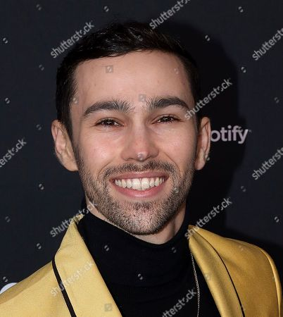Max Schneider arrives at the 2020 Spotify Best New Artist Party at The Lot Studios, in West Hollywood, Calif