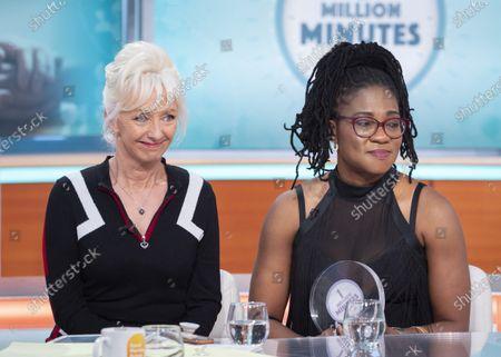 Debbie McGee and Oyovwe Kigho