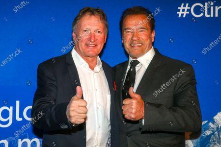 Franz Klammer, Arnold Schwarzenegger