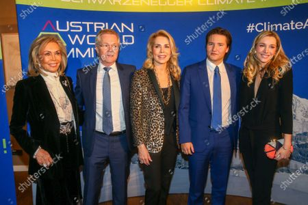 Editorial image of Arnold Schwarzenegger Climate Initiative auction, Kitzbuehel Country Club, Reith, Austria - 23 Jan 2020
