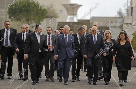 Editorial image of Prince Charles visit to Israel - 23 Jan 2020