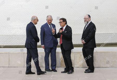 Editorial photo of Prince Charles visit to Israel - 23 Jan 2020