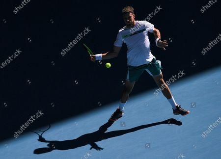 Editorial photo of Australian Open Tennis, Day Six, Melbourne Park, Australia - 25 Jan 2020