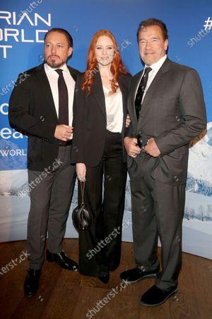 Editorial image of Schwarzenegger Climate Initiative charity dinner, Reith, Austria - 23 Jan 2020