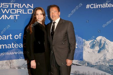 Editorial photo of Schwarzenegger Climate Initiative charity dinner, Reith, Austria - 23 Jan 2020