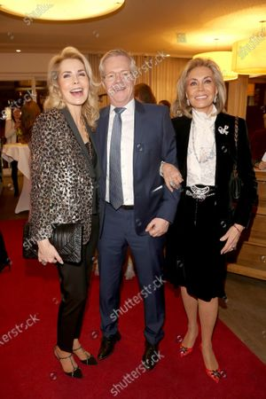 Princess Gabriele of Leiningen, Gabriele Homey, Renate Thyssen-Henne