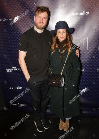 Stock Image of Nicolas Bary and Melanie Bernier
