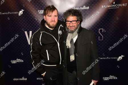 Stock Image of Nicolas Bary and Radu Mihaileanu