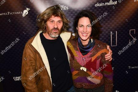 Stock Image of Benjamin Sezne and Julie Fournier