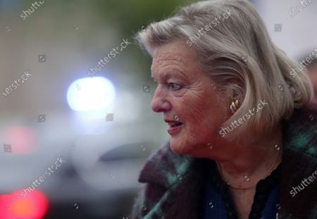 Dutch Minister for Migration Ankie Broekers-Knol arrives for an Informal Meeting of Ministers of Justice and Home Affairs, in Zagreb, Croatia, 24 January 2020.