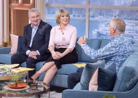 Eamonn Holmes and Ruth Langsford with Johnnie Walker