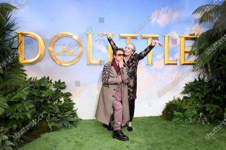 Robert Downey Jr. and Emma Thompson