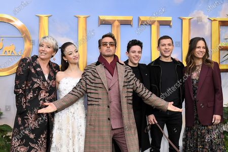 Editorial picture of 'Dolittle' film premiere, London, UK - 25 Jan 2020