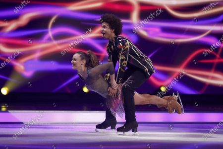 Editorial picture of 'Dancing On Ice' TV show, Series 12, Episode 4, Hertfordshire, UK - 26 Jan 2020