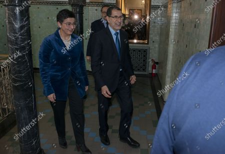 Editorial photo of Spanish Foreign Minister Arancha Gonzalez visits Morocco, Rabat - 24 Jan 2020